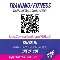 Vipers QR Codes TRAINING- ASPLEY[ 234395]